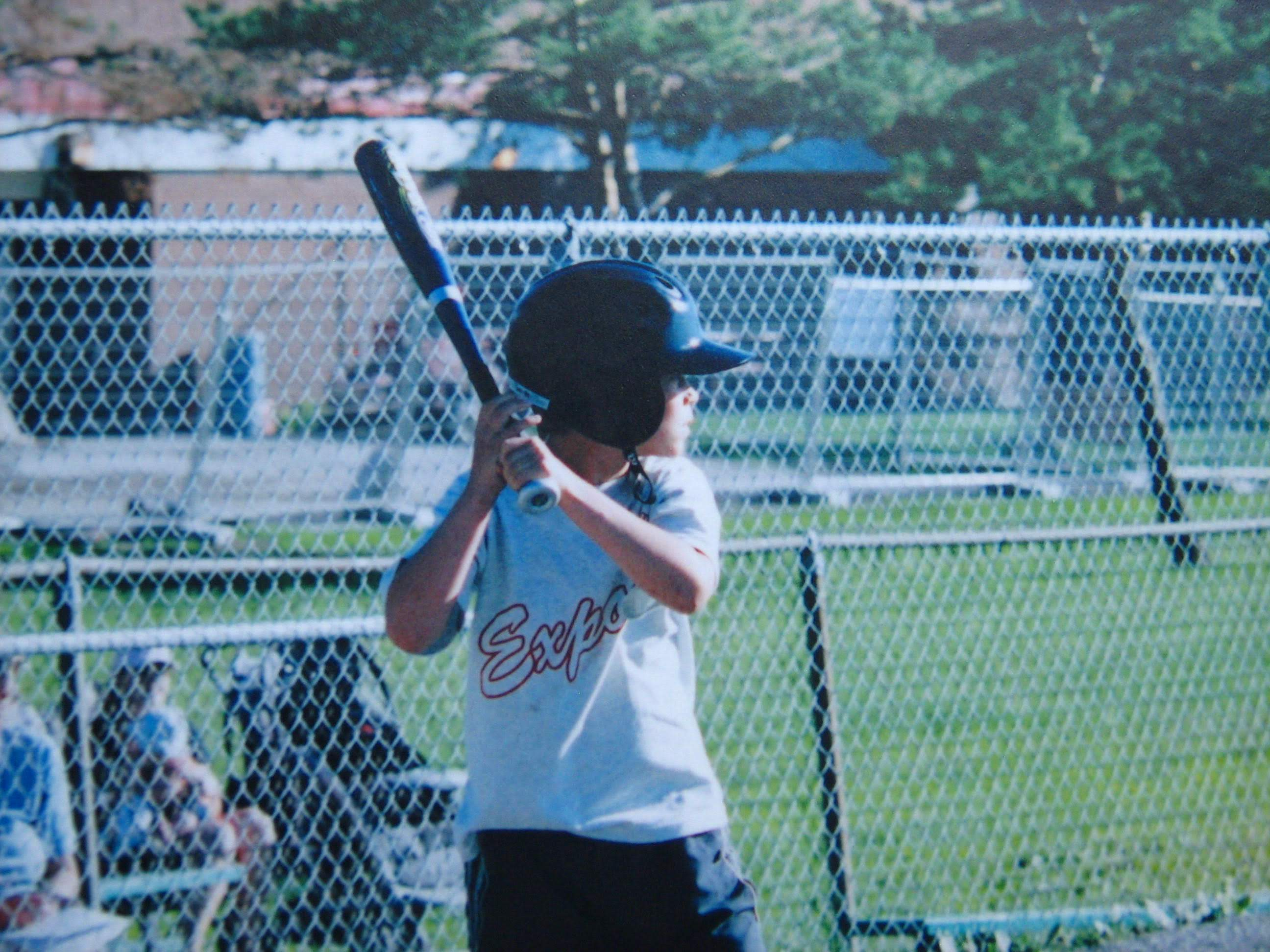Boy at bat