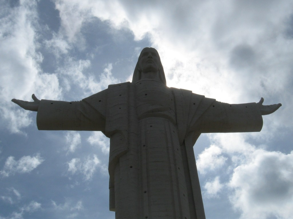 The statue of El Cristo de la Concordia in Cochobamba, Bolivia