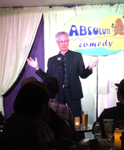 Stand-up routine at Absolute Comedy, Ottawa