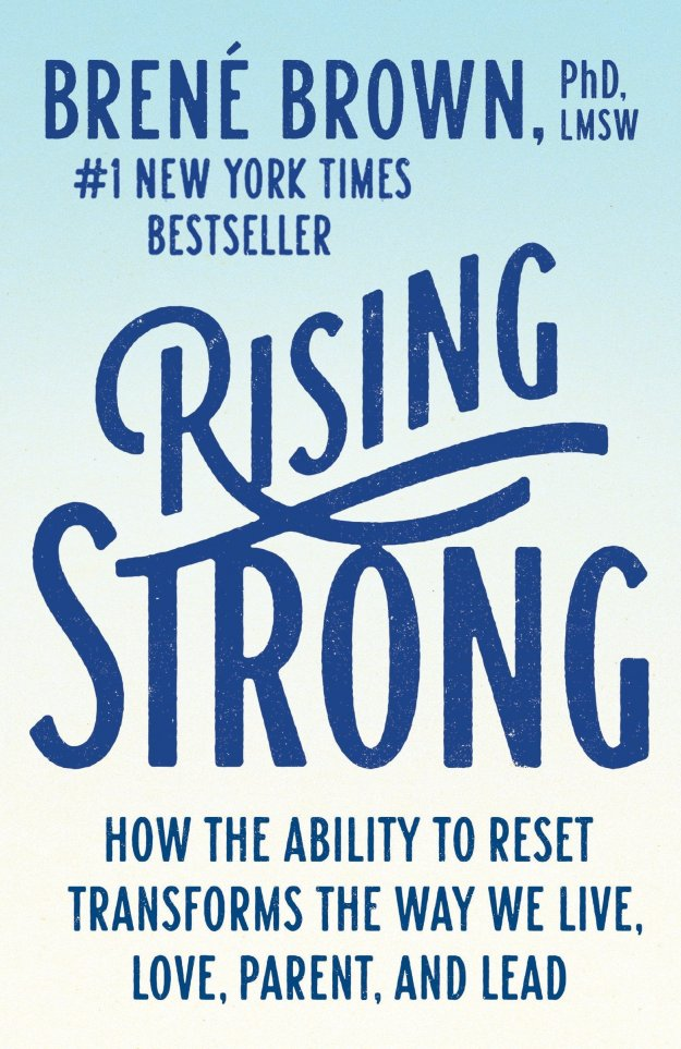 Book cover Rising Strong