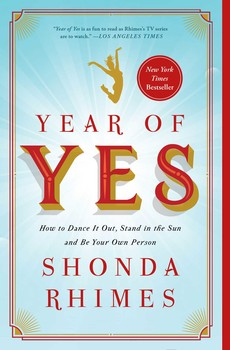 The book YEAR OF YES by Shonda Rhimes
