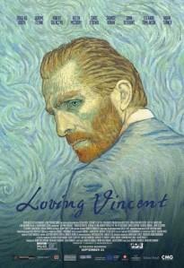 DVD cover for Loving Vincent