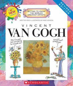 The book Vincent Van Gogh by Mike Venezia